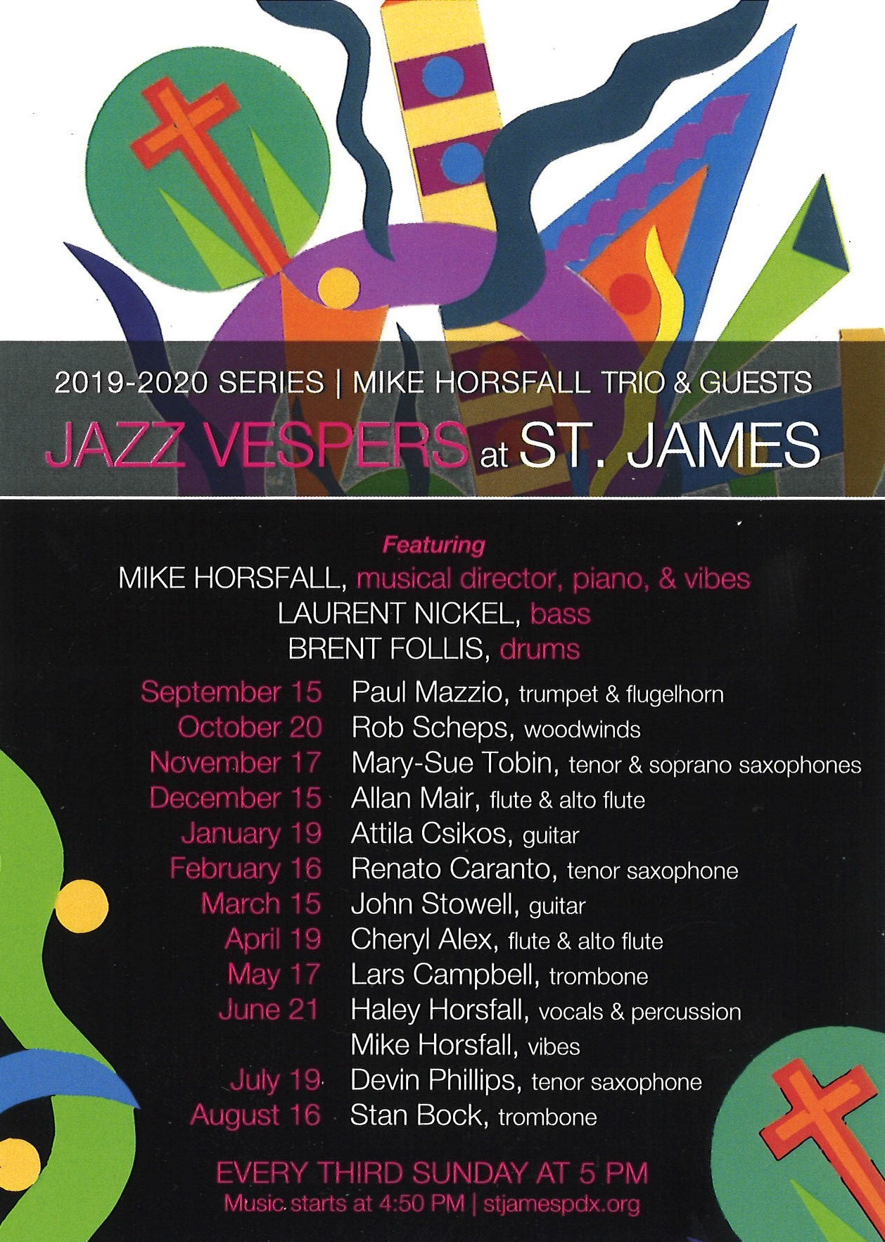 Jazz Vespers @ St. James Lutheran Church | Portland | Oregon | United States